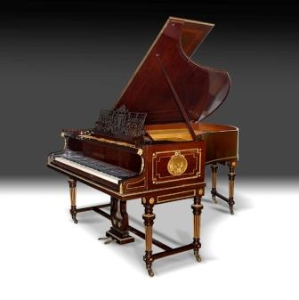 Antique Grand Piano, Bechstein, 1910