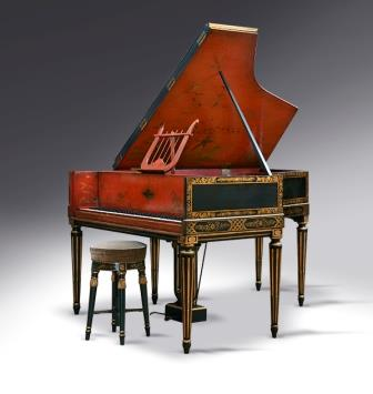 Antique Chinoiserie Grand Piano, Gaveau, 1922
