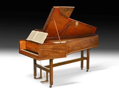 古董柯克曼大键琴,约1792年