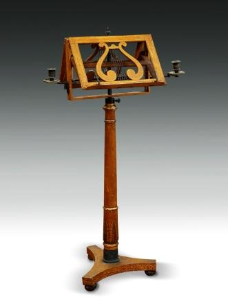 Antique Music Stand French Empire