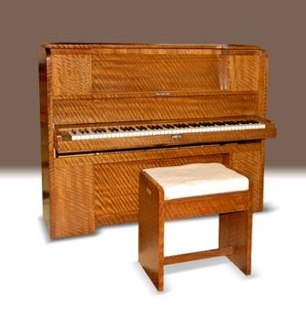 Antique Art Deco Upright Piano, Strohmenger
