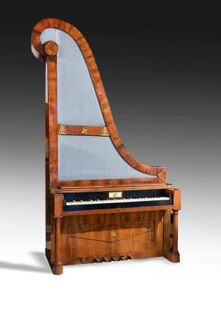 Antique Giraffe Piano ca 1825