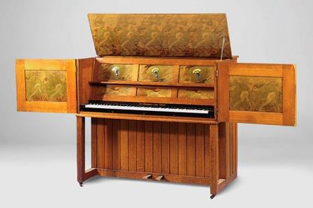 Antique Upright Piano, Broadwood, 1904